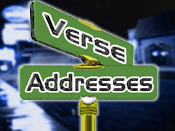 Verse Addresses
