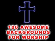100 Backgrounds for Worship