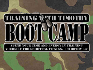 Adult christian boot camp