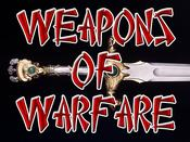 Weapons of Warfare