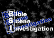 Bible Scene Investigation