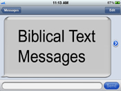 The Bible's Text Messages